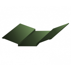 Ендова верхняя зеленый болото (RAL 6007)