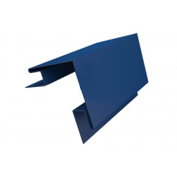 Угол наружный сложный синий (RAL 5005)