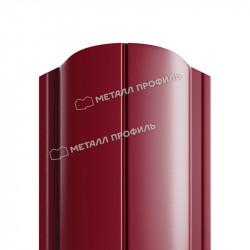 Штакетник металлический круглый красное вино (RAL 3005)
