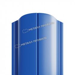 Штакетник металлический круглый синий (RAL 5005)