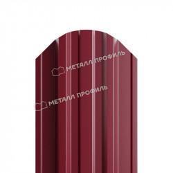 Штакетник металлический красное вино (RAL 3005)